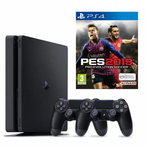 Sony PlayStation 4 Slim 1 TB + PES19