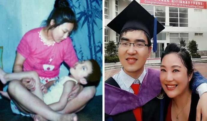 Engel Tanımayan Bir Anne ve Harvardı Kazanan Engelli Oğlunun İlham Veren Hayat Hikayesi