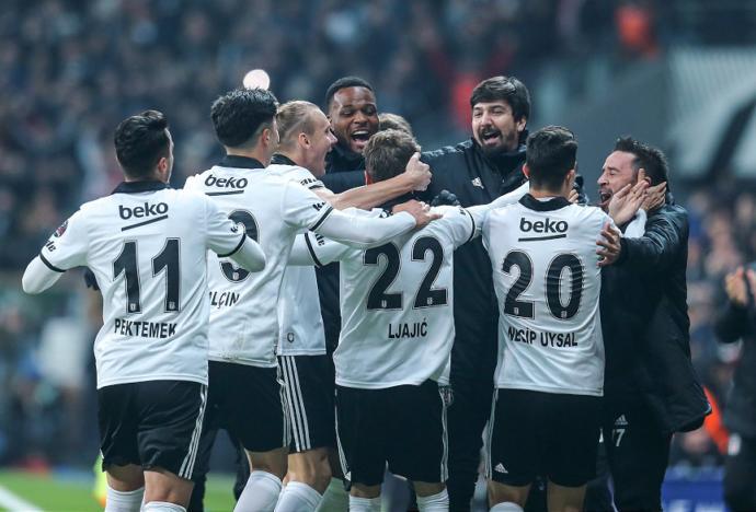 Beşiktaş, Galatasaray Galibiyetiyle Büyük Moral Kazandı