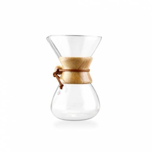 Epinox Cam Chemex Kahve Demleme 600 ml Fılter Drıp Coffee Maker