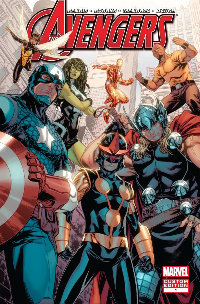 The new avengers 1 - 12 sıralı takım