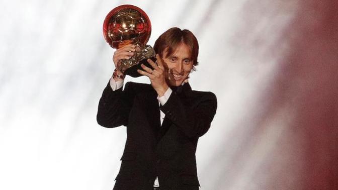 2018 Ballon d'Or Modric'in, Törende Küçük Bir Skandala Da İmza Atıldı
