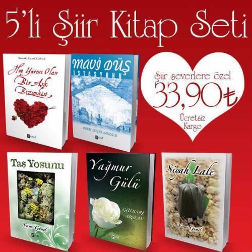 Aşk dolu dizilmiş şiir kitapları