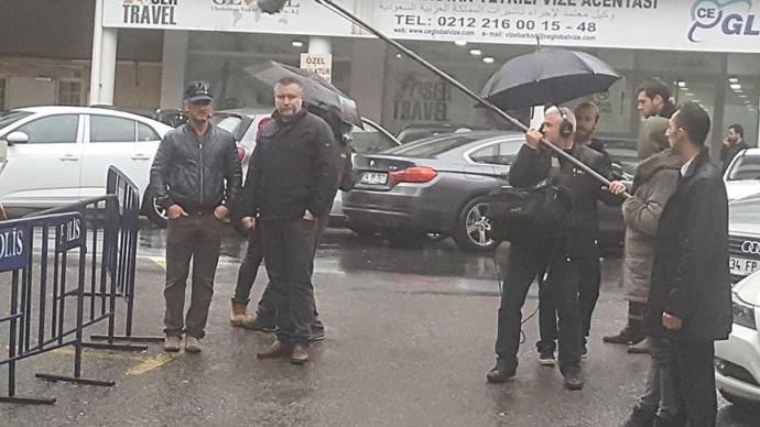 Sean Penn İstanbul'da Suudi Arabistan Başkonsolosluğunda Çekimler Yaptı