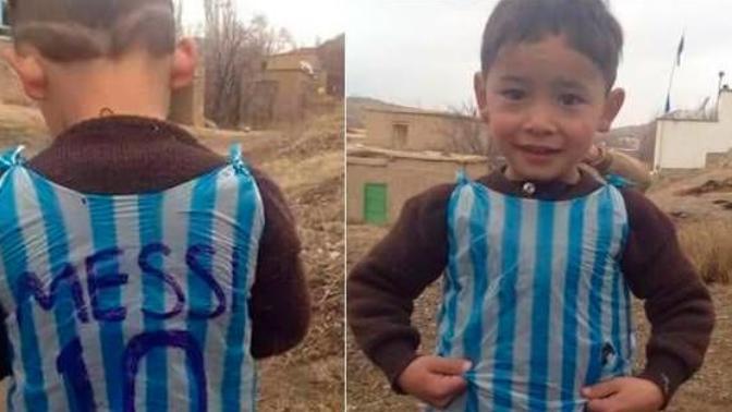 Messi'nin Forma Verdiği Afgan Çocuk Evini Terk Etti