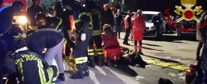 İtalya'da 6 kişi İzdiham Nedeniyle Hayatını Kaybetti