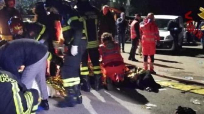 İtalya'da Diskoda Facia 6 Ölü!