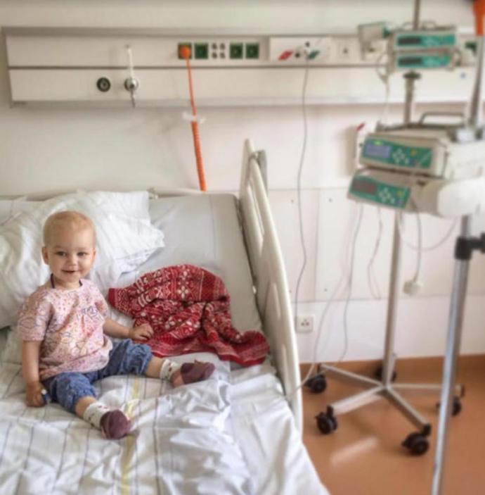 Kanser Hastası Noemi İçin Bütün Olanaklar Seferber Edildi