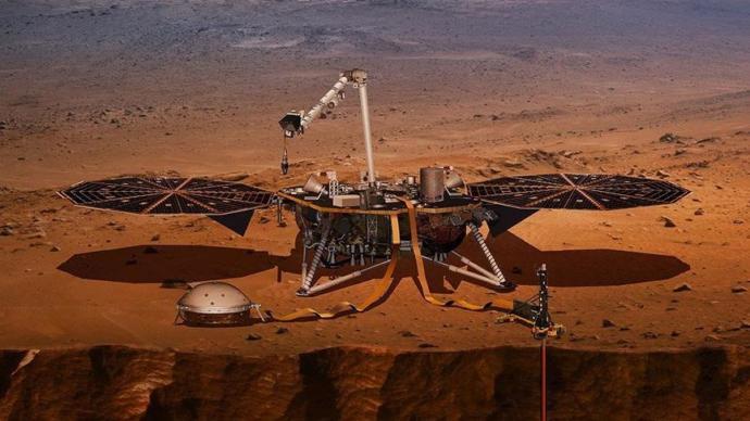 Kızıl Gezegen Mars hala gizemini koruyor