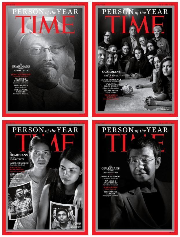 TIME Dergisi Aralarında Cemal Kaşıkçının da bulunduğu Yılın Kişilerini Seçti