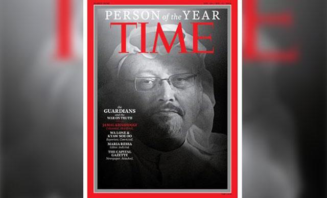'Yılın Kişisi' Cemal Kaşıkçı, TIME