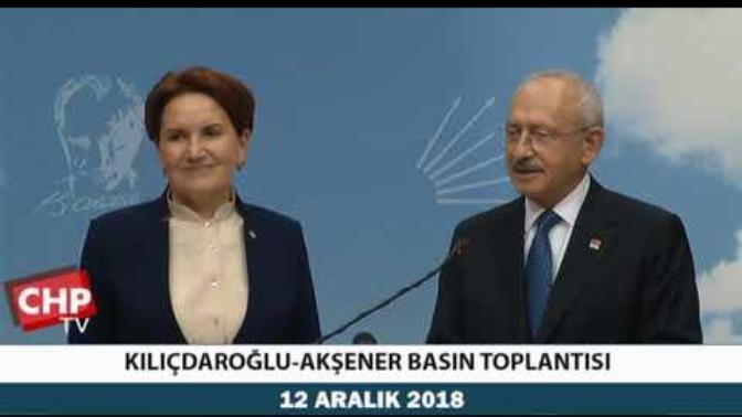 Kemal Kılıçdaroğlu ve Meral Akşener Anlaştı