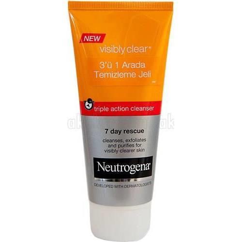 Neutrogena Vısıbly Clear 3'ü 1 Arada Temizlik Jeli