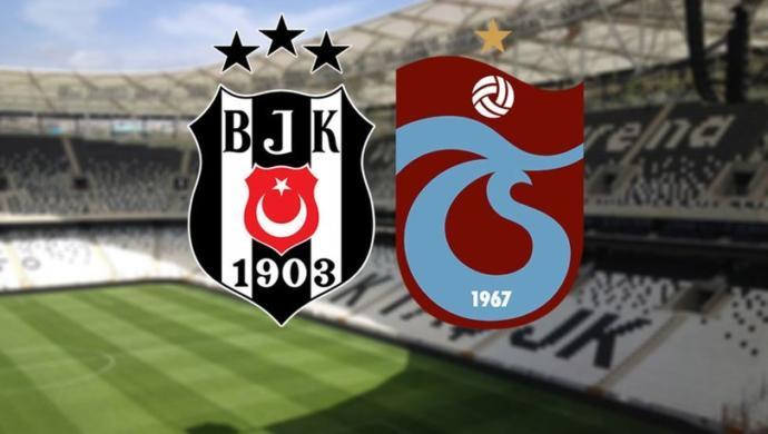 Beşiktaş - Trabzonspor Maçı Saat 19.00'da Başlayacak
