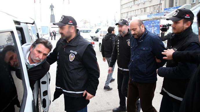 3 TCDD Görevlisi Tutuklandı
