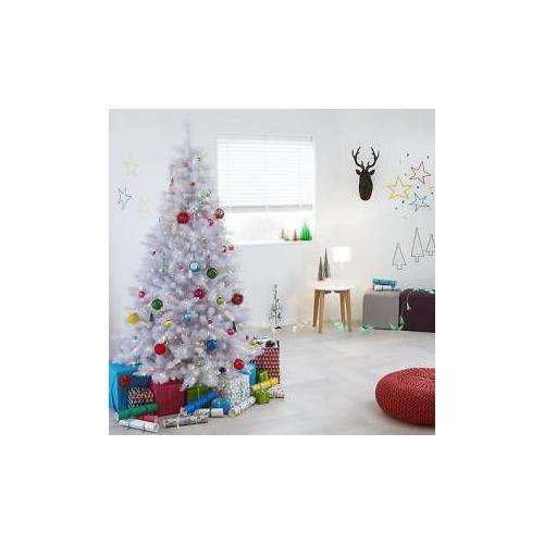 Beyaz Yılbaşı Çam Ağacı