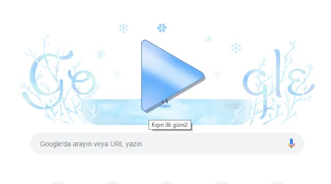 Google'ın 21 Aralık İçin Hazırladığı Doodle