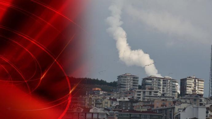 Sinop'ta Füze Denemesi Heyecan Yarattı