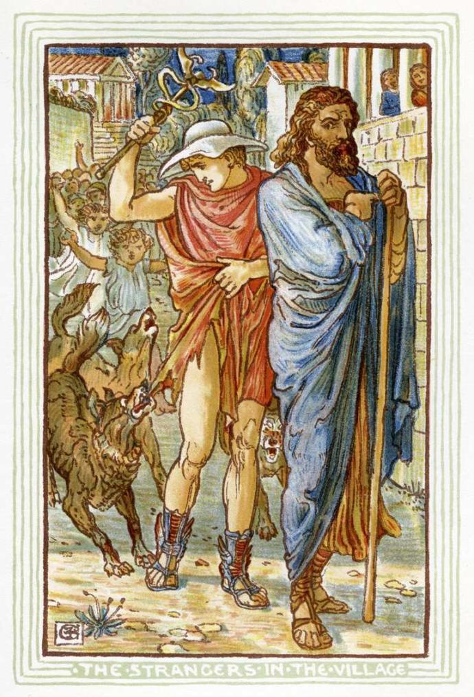 Zeus ve Hermes