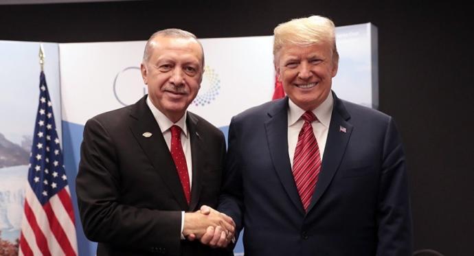 Trump, Cumhurbaşkanı Erdoğan İle Telefonda Görüştüğünü Açıkladı