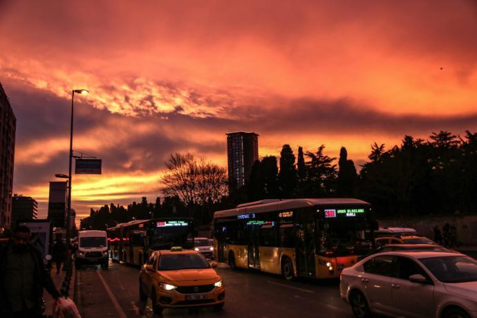 İstanbul'dan Muhteşem Görüntüler