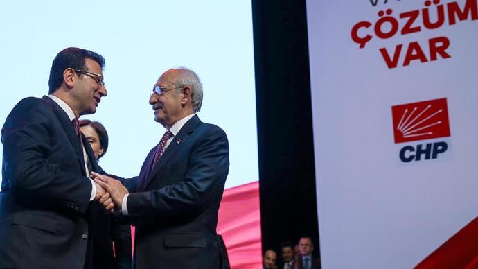 CHP İstanbul Belediye Başkan Adayı Ekrem İmamoğlu İçin Tanıtım Toplantısı Yapıldı