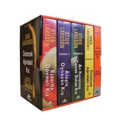 Ejderha Dövmeli Kız Millenium Serisi 5 kitap