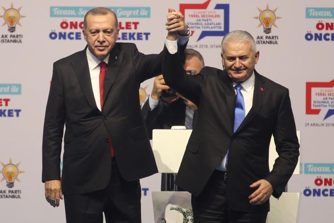 AK Parti İstanbul Belediye Başkan Adayı Binali Yıldırım Oldu