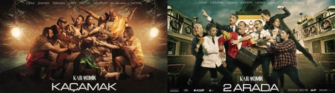 Cem Yılmaz'ın Karakomik Filmler'inden Fragmanlar Yayınlandı