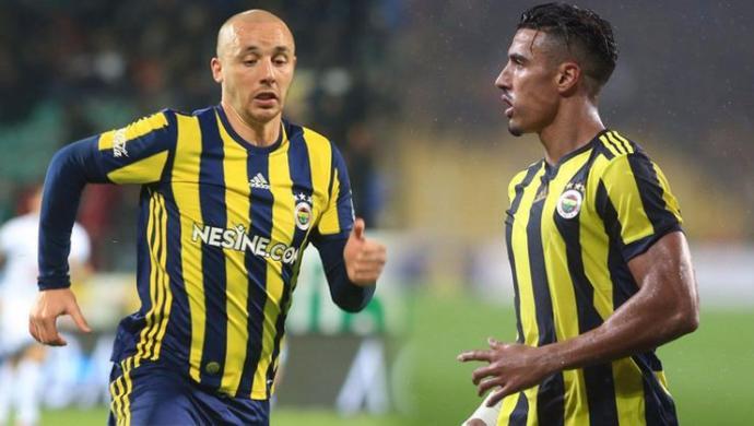 Fenerbahçe, Aatif Chahechouhe ve Nabil Dirar'ı Tekrar Kadroya Aldı
