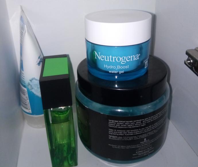 Neutrogena dolabımda.