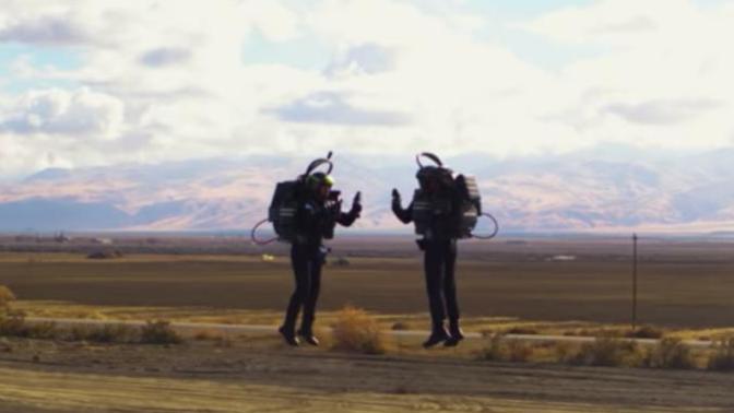 Hayaldi Gerçek Oldu: Dünyanın İlk Jetpack Yarışları Başlıyor.