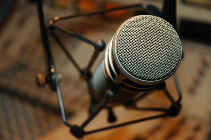 Mikrofon bende :D
