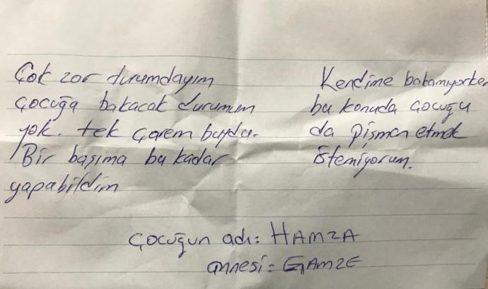 Hamza'nın Cebindeki Not
