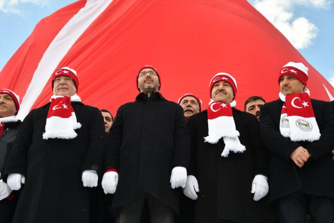 Sarıkamış Şehitleri Anısına Yapılan Türkiye'nin En Büyük Heykelleri Açıldı