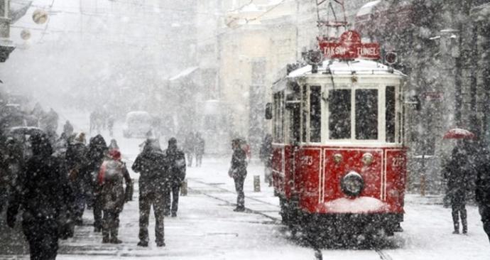 İstanbul Kar İle Buluşuyor!