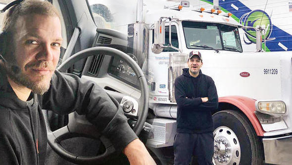 Tolga Karel Amerika'da TIR Şoförlüğü Yapıyor