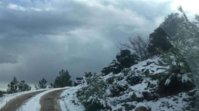 Bodrum'a Kar Yağdı!