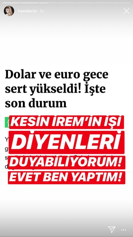 İrem Derici'den İsyan!