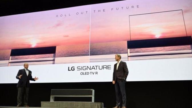 LG Yine Yaptı Yapacağını Ve Kıvrılan Televizyonunu Tanıttı