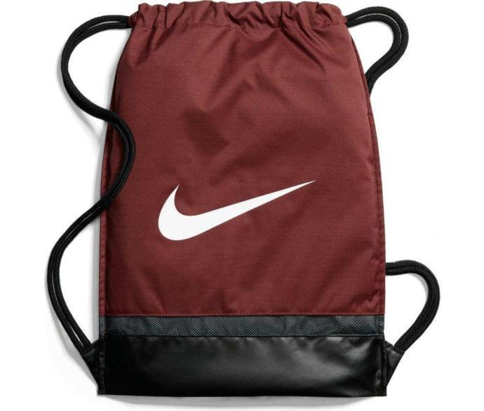 Nike Askılı Poşet Çanta Nike Brasilia Training Gymsack BA5338-622 Bordo