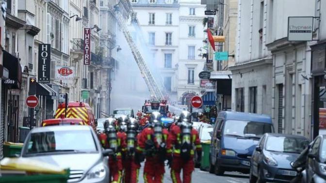 Paris'te Patlama! 4 Kişi Hayatını Kaybetti