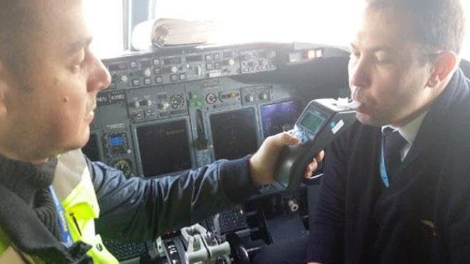 Pilotlara Alkol Testi Yapılmaya Başlandı