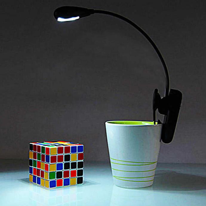 Ayarlanabilir Klipsli Masa Üstü LED Lamba ve Okuma Işığı