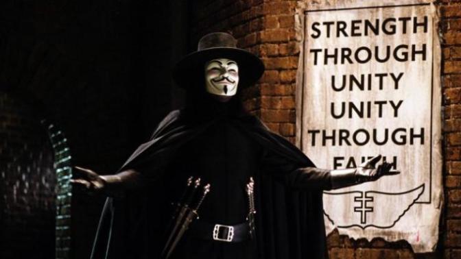 """Kült Film """"V For Vendetta"""" Hakkında Bilinmeyen 5 Şey"""