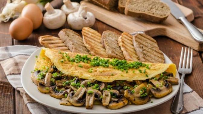 Kahvaltıların Sultanı Mantarlı Omlet Tarifi!