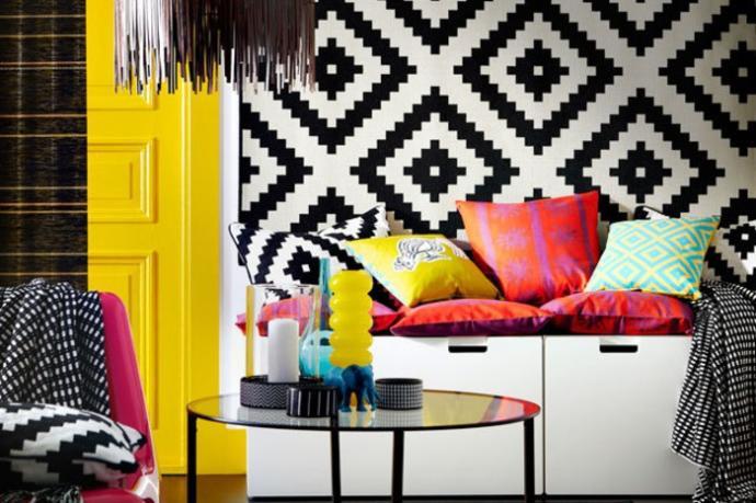 Çok Renkli, Bol Desenli, Stil Sahibi Yaşam Alanları