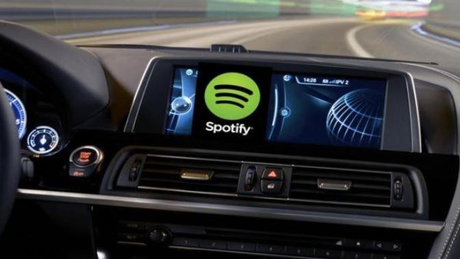 Spotify Araç İçi Müzik Çaları Bu Yıl Çıkabilir!