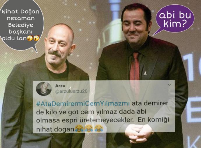 Yeni Kuşağın Twitter'daki Nostaljik Tartışması: #AtaDemirermiCemYılmazmı