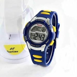 Startime Fenerbahçe taraftar dijital su geçirmez büyük kasa çocuk kol saati kanarya karne hediyesi